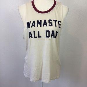 NWOT Spiritual Gangster Sleeveless T-Shirt Size S